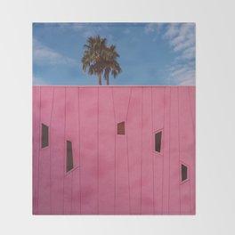 Palm Springs Vibes III Throw Blanket