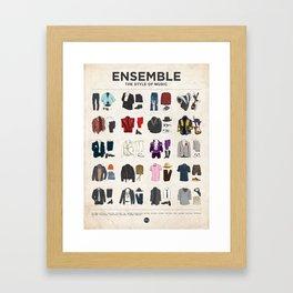 Ensemble Framed Art Print