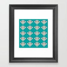 Basic Sheep - 4 Framed Art Print