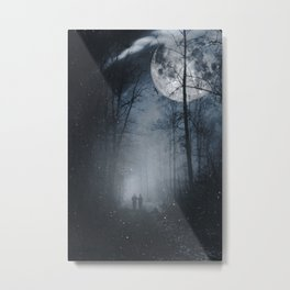 moon walkers Metal Print