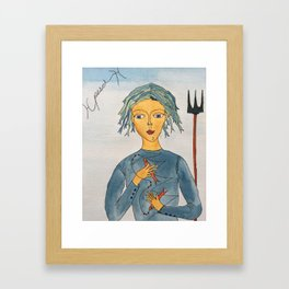 Pesci Framed Art Print