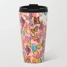 catching butterflies Travel Mug