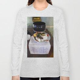 Buddist Food Offering Long Sleeve T-shirt