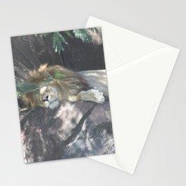 Sleeping Lion Stationery Cards