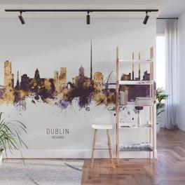 Dublin Ireland Skyline Wall Mural
