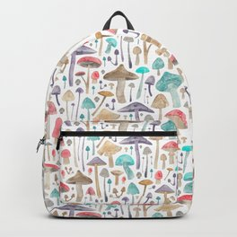 Toadstools and Mushrooms Backpack