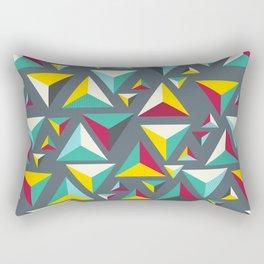 Pattern triangles Rectangular Pillow