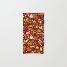 Chicken coop pattern Hand & Bath Towel