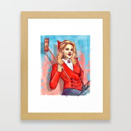 Mythic Bitch Framed Art Print