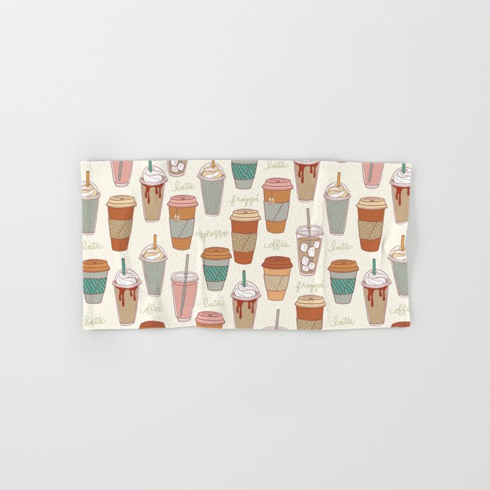 Latte Love Hand & Bath Towel