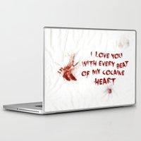 cocaine Laptop & iPad Skins featuring COCAINE LOVE by Beauty Killer Art