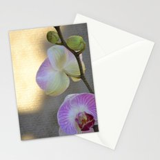 Pretty Orchids Stationery Cards