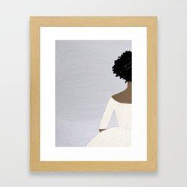Helena - Original Acrylic on Canvas Artwork Framed Art Print
