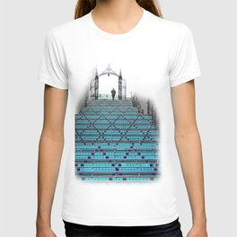 Mystery Man on the Blue Stairway to Heaven, Kansas City T-shirt