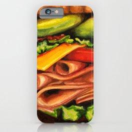 Sandwich- Turkey Bacon Avocado iPhone Case