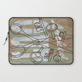 Locked Out? get some more keys cut yeah! Laptop Sleeve