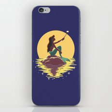 The Little Mermaid - Ariel Selfie iPhone & iPod Skin