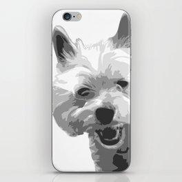 The Happy Westie iPhone Skin