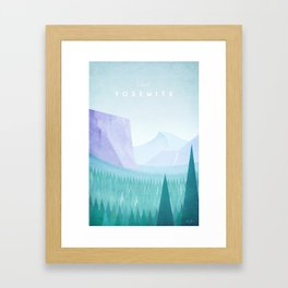 Yosemite National Park Framed Art Print