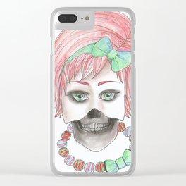 Dead Inside II Clear iPhone Case