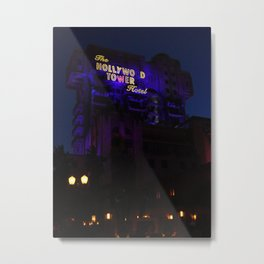 The Twilight Zone: Tower Of Terror Metal Print