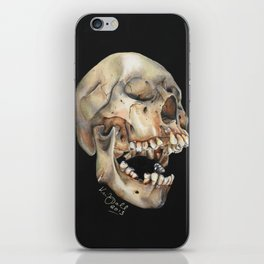 Open Mouth Skull iPhone Skin