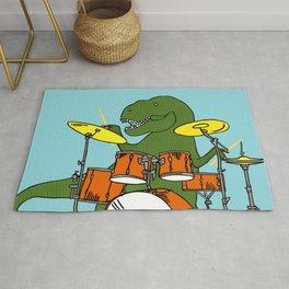 T-Rex Drummer Rug