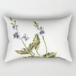 Veronica chamaedrys Rectangular Pillow