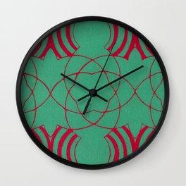 Colliding Wall Clock