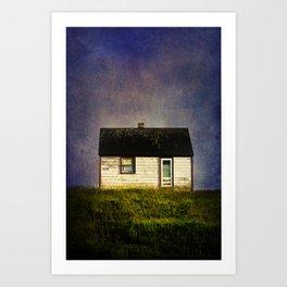 Folk House Art Print