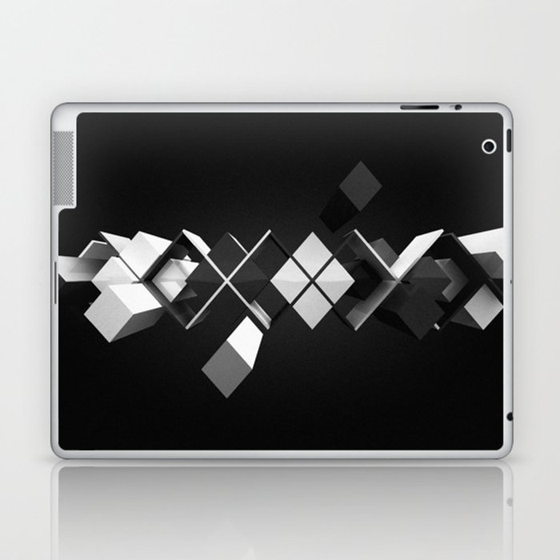 Argyle Deconstruction Laptop & iPad Skin