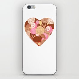 Corazón de Pan Dulce iPhone Skin