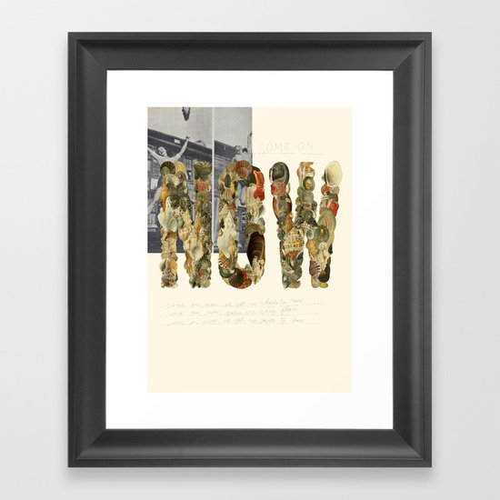 NOW! Framed Art Print