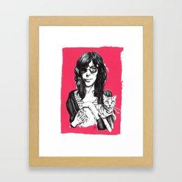 Everybody Loves Cats Framed Art Print