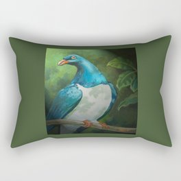 NZ Native Pigeon Kereru Rectangular Pillow