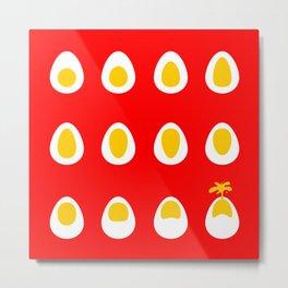 Volcano - Egg eruption Metal Print