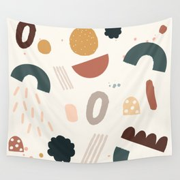 Geo Shapes Party Wall Tapestry