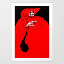 The Red Death Art Print