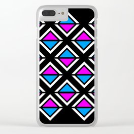 Topsy Turvy Clear iPhone Case