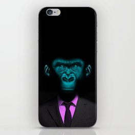 Monkey Suit iPhone Skin