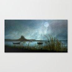Lindisfarne Moon Canvas Print