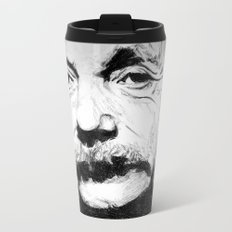 Albert Einstein Metal Travel Mug