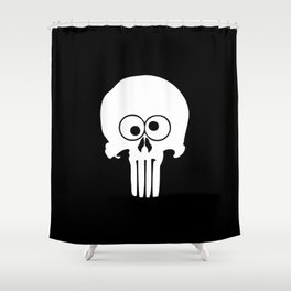 The Funisher Shower Curtain