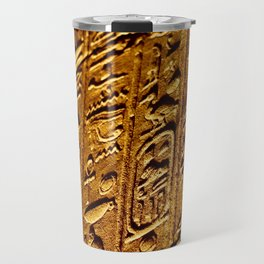 Hieroglyphics in Philae Travel Mug