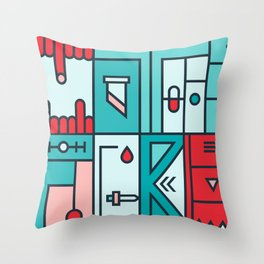 Play on words | Mother Fucker Throw Pillow