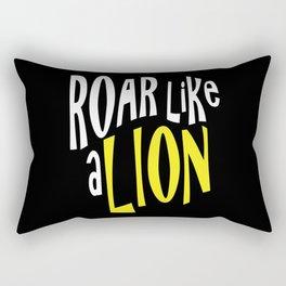Lion Baby Rectangular Pillow