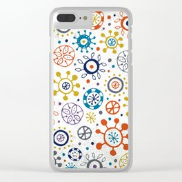 Doodle Organic Clear iPhone Case