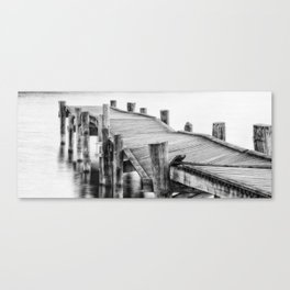Broken Bridge Canvas Print