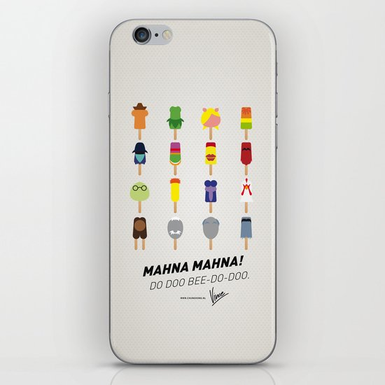 My MINIMAL ICE POPS univers III iPhone & iPod Skin