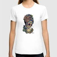 fitzgerald T-shirts featuring Marie de los Muertos by Cathy FitzGerald